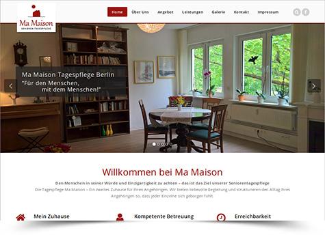 Ma Maison Webseite