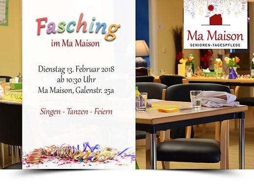 Fasching Ma Maison 2018