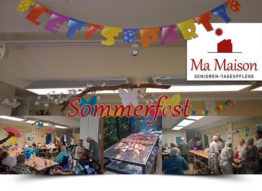 Sommerfest 2019 im Ma Maison