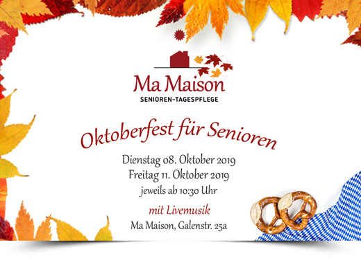 Oktoberfest in der Senioren Tagespflege